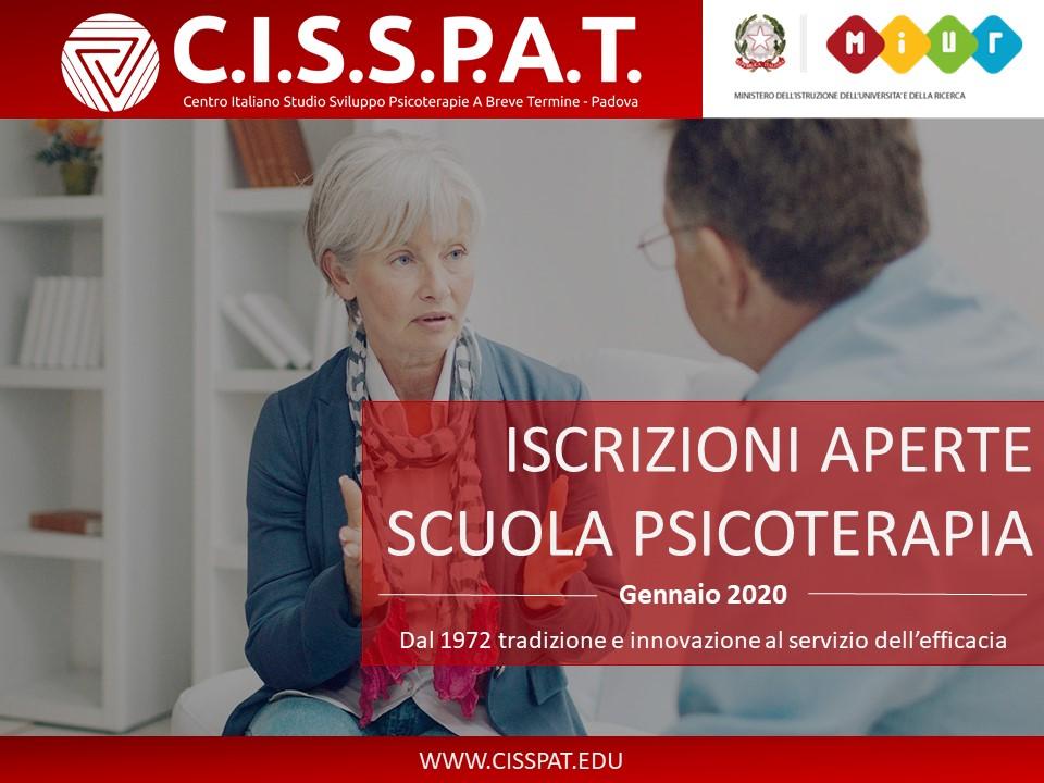 cisspat scuola psicoterapia presentazione 2020