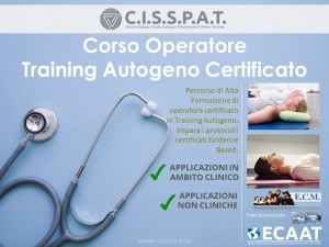 ta training autogeno cisspat ecaat isatp