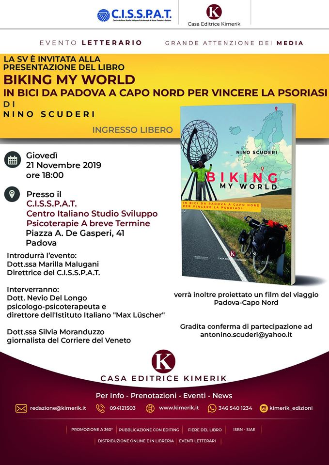 Biking my world Antonino Scuderi