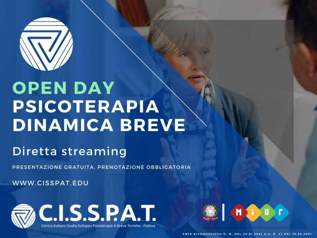 open day cisspat psicoterapie dinamica breve istdp training autogeno