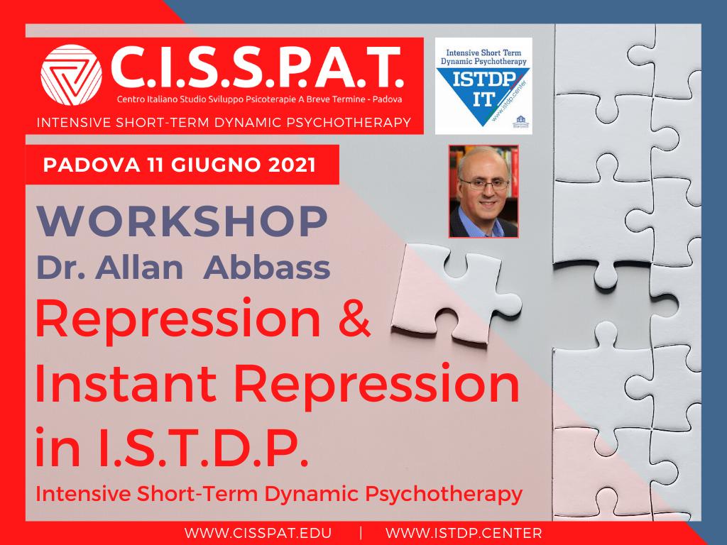 Copia di Intensive Short-term Dynamic Psychotherapy for Repression and Instant Repression