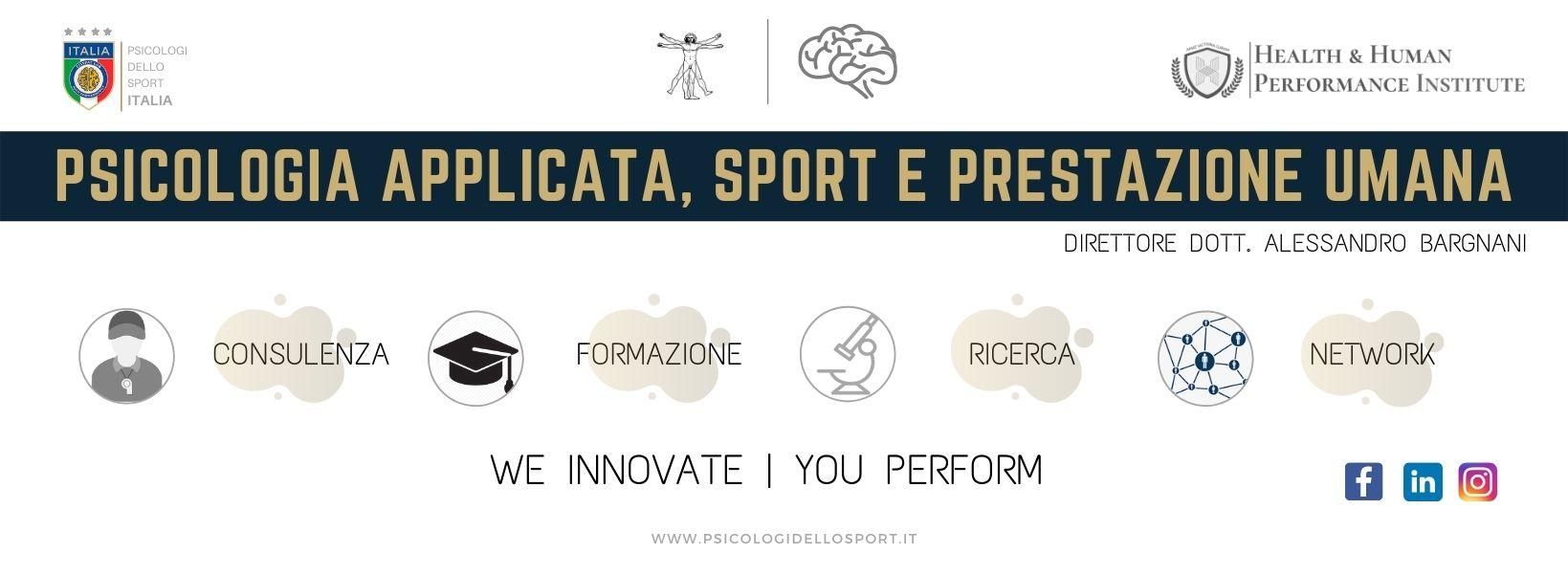 psicologi dello sport PSICOLOGIA APPLICATA, SPORT E PRESTAZIONE UMANA (1)