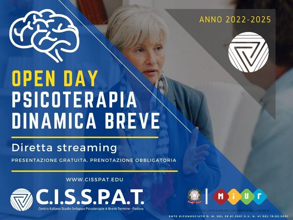 open day Cisspat centro Italiano studio svilupp psicoterapia breve dinamica integrata italia